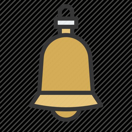 baubles, bell, christmas, christmas ball, christmas ornament, ornament icon