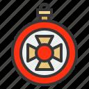 ball, baubles, christmas, christmas ball, christmas ornament, ornament icon