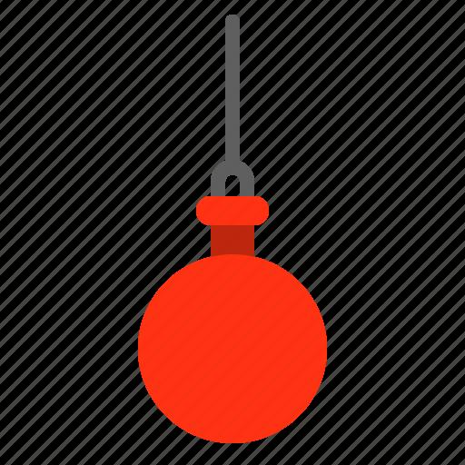 bauble, christmas, decoration, led, light bulb, ornament icon