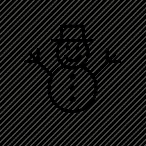christmas, holidays, man, snow, snowman, winter, xmas icon