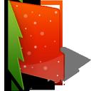 christmas, folder icon