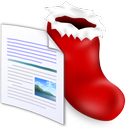 document, sock icon