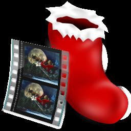 film, sock, video icon