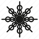 christmas, snowfall, snowflake, snowing, xmas icon