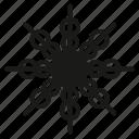 christmas, snowfall, snowflake, snowing, xmas icon
