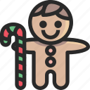 christmas, cookie, holidays, newyear icon