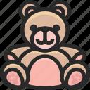 bear, christmas, holidays, newyear, teddy icon