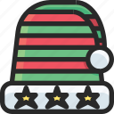 christmas, hat, holidays, newyear icon