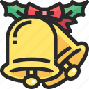 bell, christmas, holidays, newyear icon