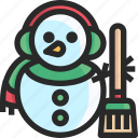 christmas, holidays, newyear, snowman icon