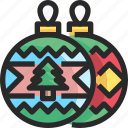 bauble, christmas, holidays, newyear icon