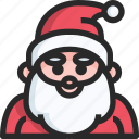 christmas, holidays, newyear, santa icon