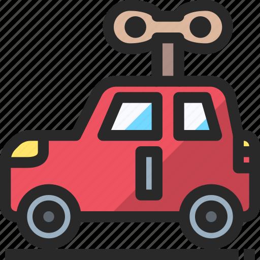 car, christmas, holidays, newyear, toy icon