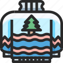 christmas, holidays, newyear, sweater icon