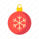 ball, bauble, christmas, decoration, holiday, ornament, xmas icon