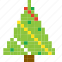 christmas, forest, gift, snow, tree, winter, xmas icon