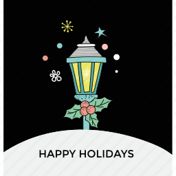 christmas celebration, christmas festive, greeting card, happy holiday, winter cold night icon