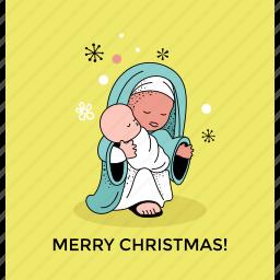 christmas greeting, greeting card, merry christmas, postcard icon