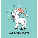 cartoon deer, christmas reindeer, dancing reindeer, funny deer, holiday reindeer icon