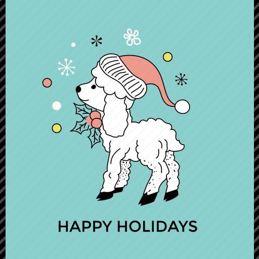 cartoon deer, christmas reindeer, dancing reindeer, funny deer, holiday reindeer icon