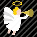 angel, merry, religion, wing, xmas