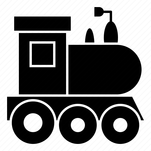 christmas, toy, train, transport icon