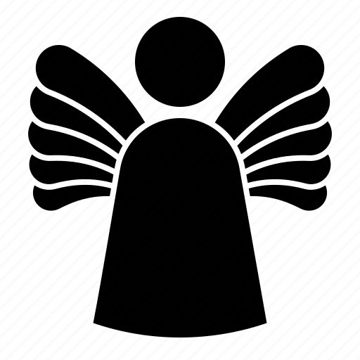 angel, christmas, fairy, wing icon