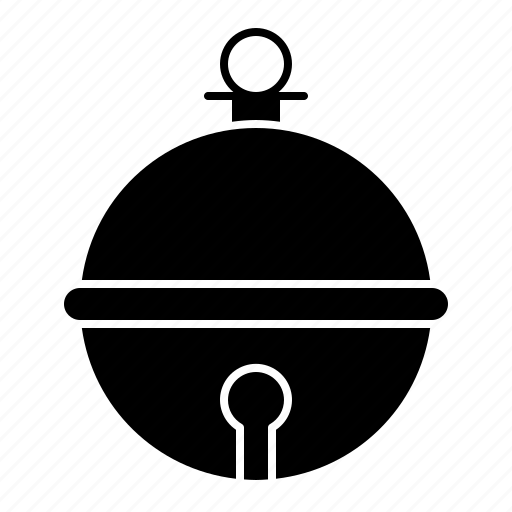 bauble, bell, christmas, jingle bell icon