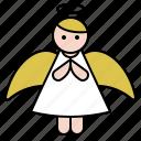 angel, christmas, fairy, fantasy, xmas