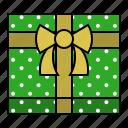 christmas, gift, gift box, present, xmas icon