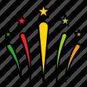 celebration, christmas, firework, party, xmas