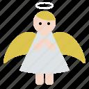 angel, christmas, doll, fairy, fantasy, xmas