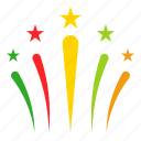 celebration, christmas, firework, party, xmas icon