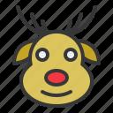 avatar, christmas, deer, ornament, reindeer, xmas