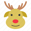 avatar, christmas, deer, ornament, reindeer, xmas icon