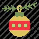 bauble.christmas ball, christmas, ornament, xmas icon