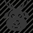 avatar, christmas, deer, ornaments, reindeer, xmas