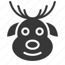 avatar, christmas, deer, ornaments, reindeer, xmas icon