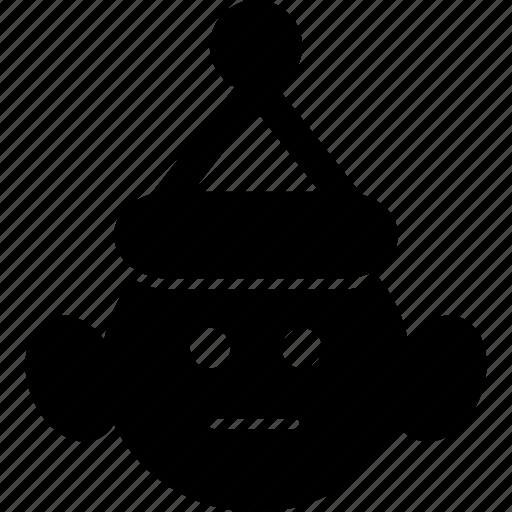 cap, celebration, christmas, party, snow, snow man, winter icon