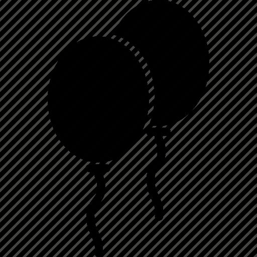 balloons, balloons in air, celebration, christmas balloons icon