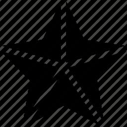 christmas, night, snowflake, star icon