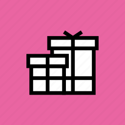 birthday, box, christmas, gift, gifts, new year, present icon