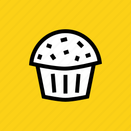 cake, christmas, cup, dessert, muffin, pastry, sweet icon