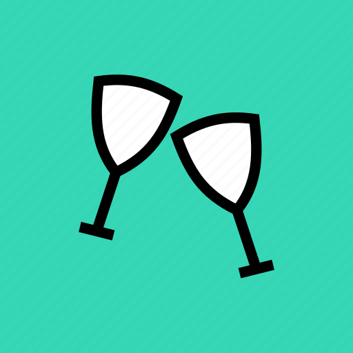 alcohol, celebration, christmas, drink, new year, party, wine icon