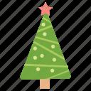 christmas tree, decorative tree, pine tree, xmas decorations, xmas tree icon