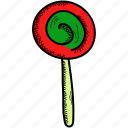candy, food, lollipop, sweet icon