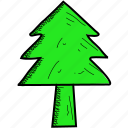 christmas, decoration, nature, tree, xmas icon