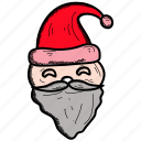 avatar, cartoon, character, christmas, claus, santa icon