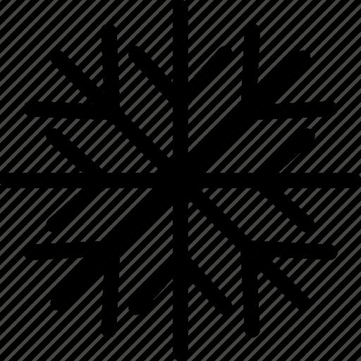 christmas, decoration, ice crystal, snow, snowflake, xmas icon