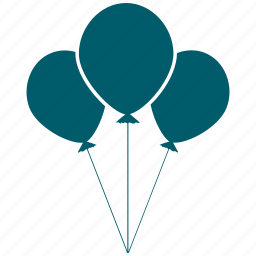 balloon, birthday, celebration, celebrations icon